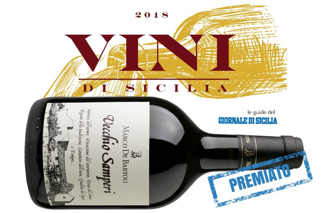 """Il Vecchio Samperi """"vino top"""" per la guida Vini di Sicilia del GdS"""