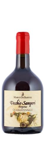 bottiglia Vecchio Samperi Quarantennale