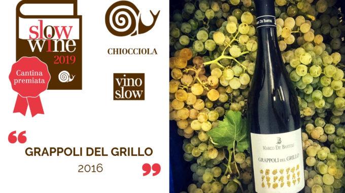 Il Grappoli Del Grillo 2016 è Vino Slow
