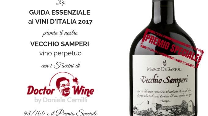 Premio Speciale Guida Essenziale Di Doctor Wine