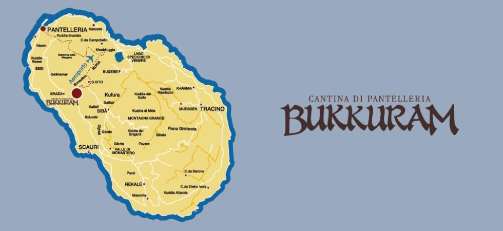 Come raggiungere la cantina di Bukkuram a Pantelleria