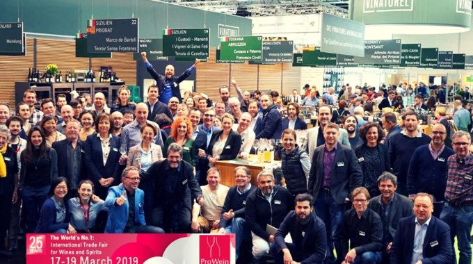 ProWein 2019 – I Produttori Importati Da Vinaturel Gmbh
